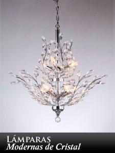 lamparas de cristal bogota